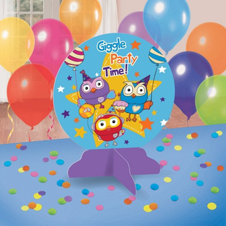 Giggle & Hoot table centrepiece