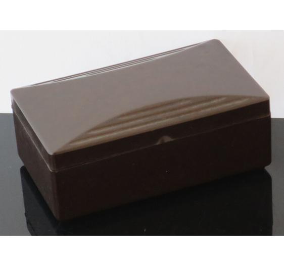 Gillette bakelite container