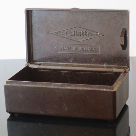 Gillette razor container only