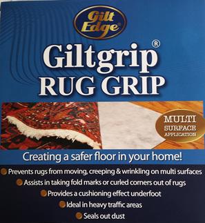 Gilt Grip Rug Hold