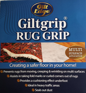 Gilt Grip Rug Hold