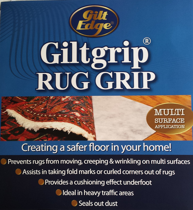 Gilt Grip Rug Hold Rugs For All