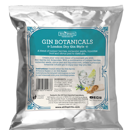 Gin Botanicals - London Dry
