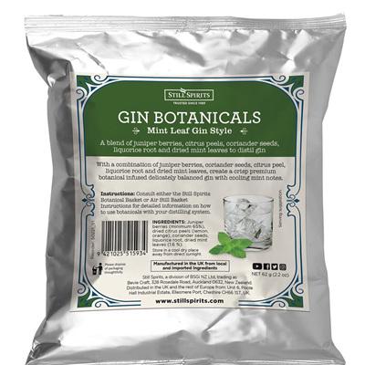 Gin Botanicals - Mint Leaf Gin