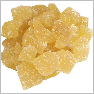 Ginger Cubes Crystalised Organic Approx 100g