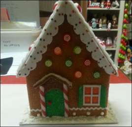 Gingerbread house - decoration