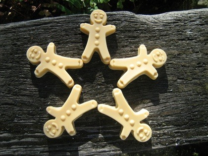Gingerbread Men Soaps