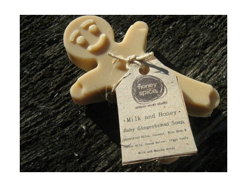 Gingerbread Men Soaps
