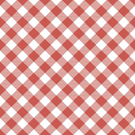 Gingham Red PC19035