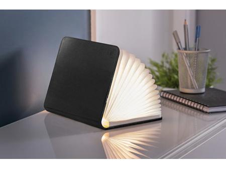 Gingko Smart LED Booklight Mini Black Leather