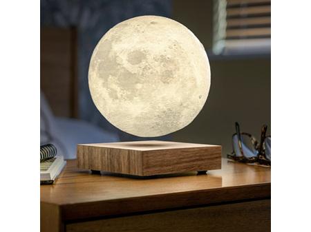 Gingko Smart LED Moon Lamp American Walnut