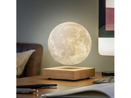 Gingko Smart LED Moon Lamp White Ash