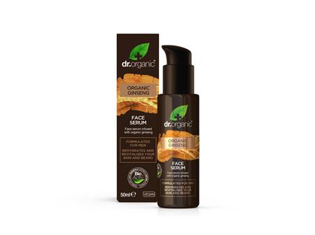 Ginseng Men's Face Serum 50ml - dr.organic