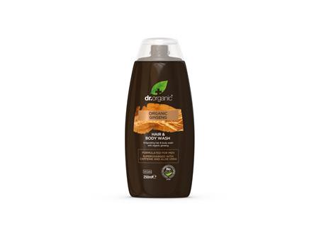 Ginseng - Mens Hair & Body Wash 250ml - dr. organic