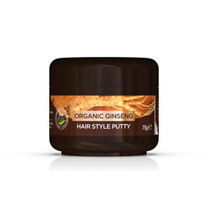 Ginseng - Mens Hair Style Putty 75g - dr. organic
