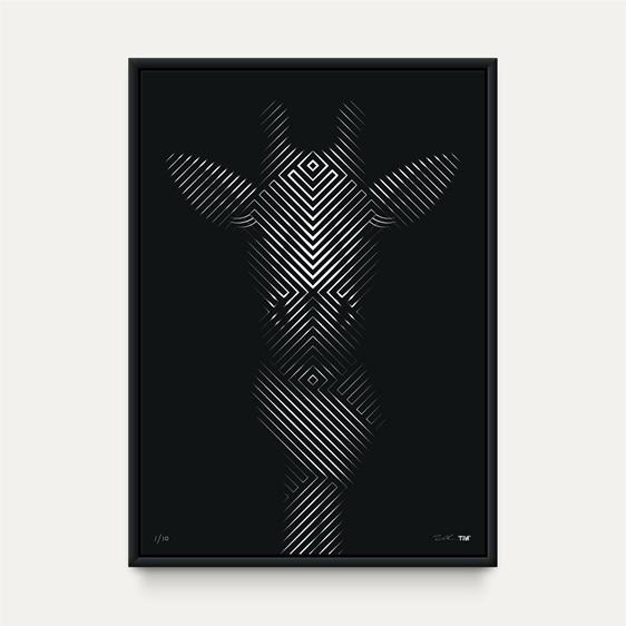 Giraffe in Scarf