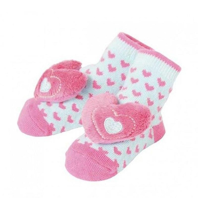 Girl Hearts Rattle Socks