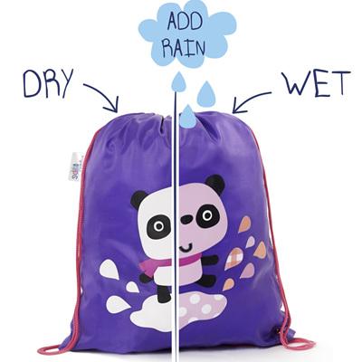 Girls Colour Changing Panda Bag