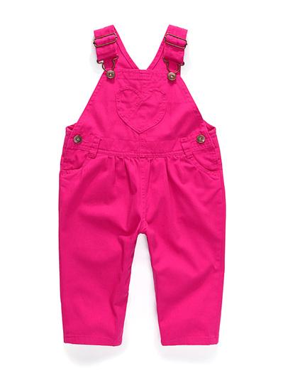 Girls Pink Osh Kosh overalls