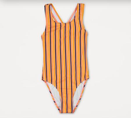 Girls swimwear - stripe size 8