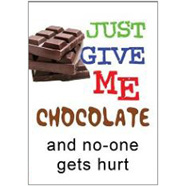Give Choc Fridge Magnet