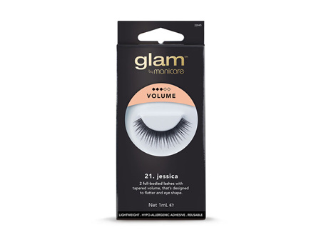 Glam By Manicare Volume Jessica Lashes