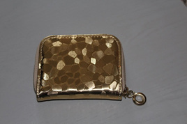 Glam Short Wallet - GOLD