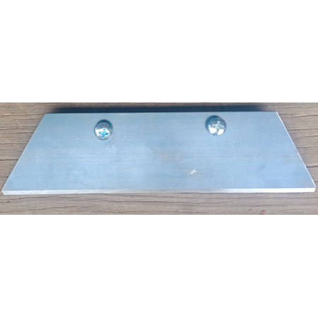 Glaser Trapezoid hoe replacement blade