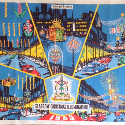 Glasgow Christmas Illuminations 1965