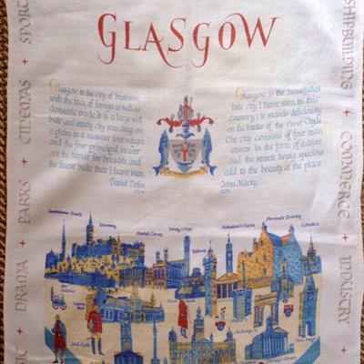 Glasgow Scottish linen
