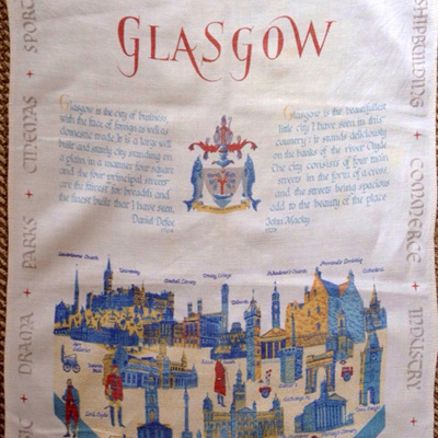 Glasgow Scottish linen