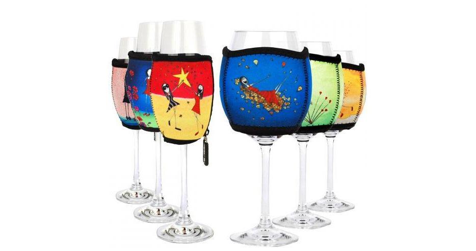 Imagine Elli Wine Glass Coolers