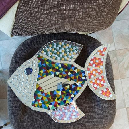 Glass Fish Mosaic
