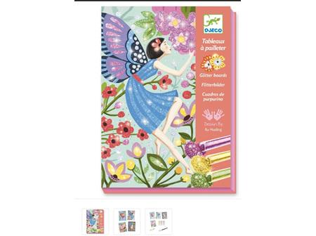 Glitter Boards - Gentle Fairie