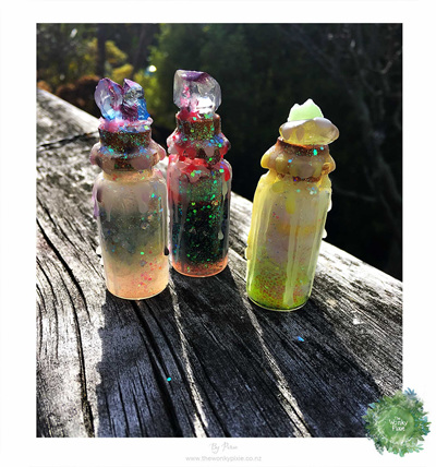 Glitter Glow Bottles - Small