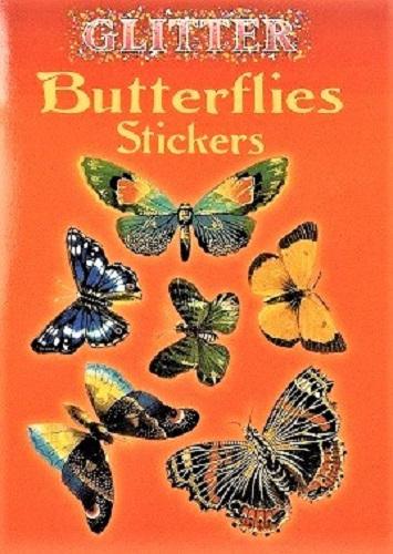 Glitter Butterfly Stickers