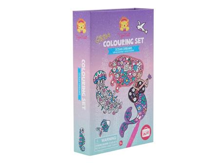 Glitter Colouring Ocean Dreams