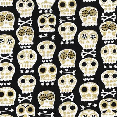 Glitter Critters - Bonehead Black