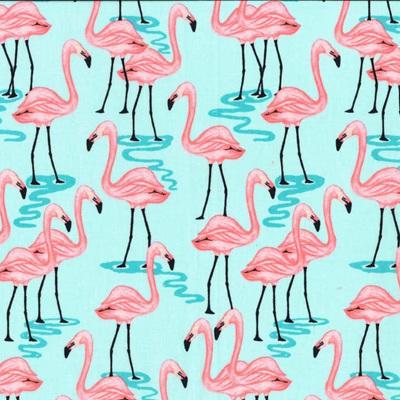 Glitter Critters - Flamingo Bay Aqua