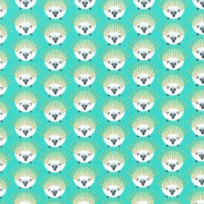 Glitter Critters - Quills Aqua
