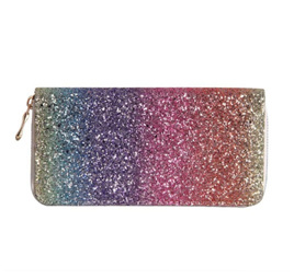 Glitter Sparkle Rainbow Wallet