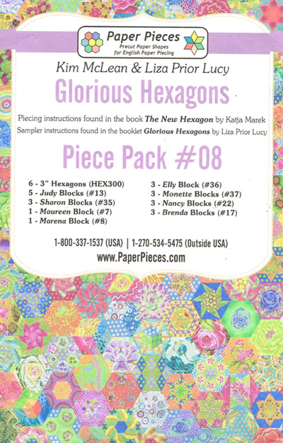 Glorious Hexagons - Piece Pack No. 8