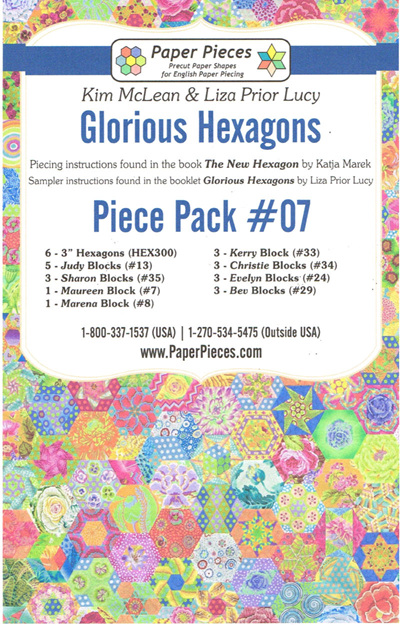 Glorious Hexagons - Piece Pack No. 7