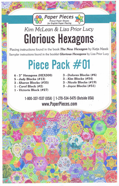 Glorious Hexagons - Piece Pack No. 1