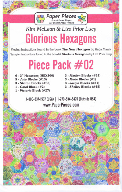 Glorious Hexagons - Piece Pack No. 2