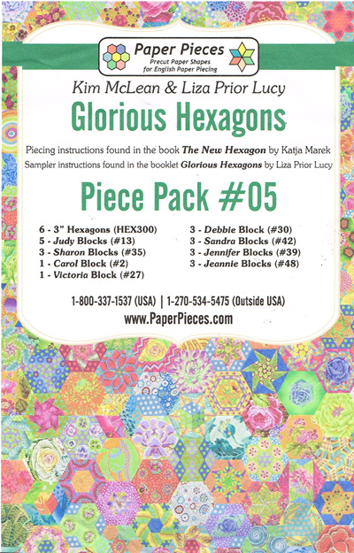 Glorious Hexagons - Piece Pack No. 5