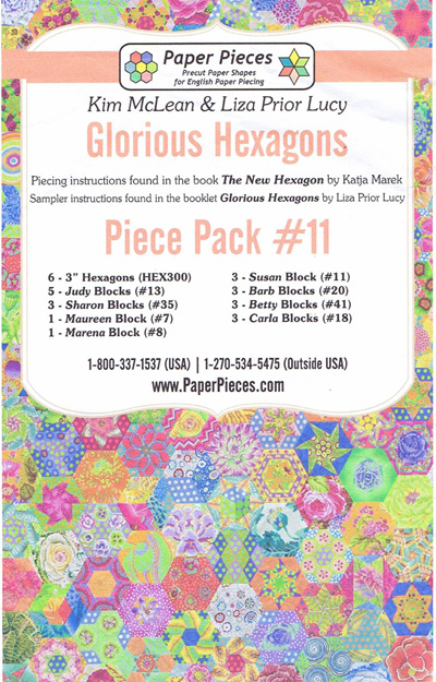 Glorious Hexagons - Piece Pack No. 11