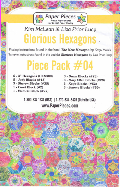Glorious Hexagons - Piece Pack No. 4