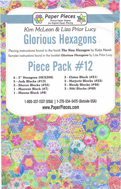Glorious Hexagons - Piece Pack No. 12