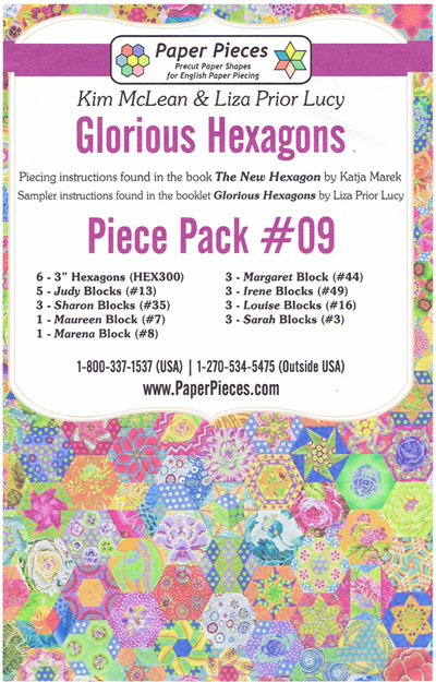 Glorious Hexagons - Piece Pack No. 9